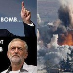 Whos been bombing war-torn Middle East & wants more war, creating more terrorism, more refugees? #Cameronspeech http://t.co/bABl2FojXZ