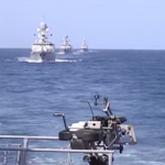 Минобороны показало, как российский флот ударил по #ИГИЛ в Сирии Видео: http://t.co/bhbptPee4q http://t.co/XP9mjMxthH