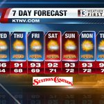 Good Morning Las #Vegas! Heres what were expecting for the coming week! #NVwx #GMLV http://t.co/4zA8h0HSQF