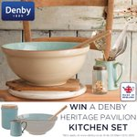#Win a #Denby Heritage Kitchen Set worth £86. RT & follow to enter #winitwednesday #GBBOFinal http://t.co/yElXQw7JGV http://t.co/tb5A0ySOTp
