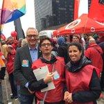 #PVDA steunt de betoging #7okt met @peter_mertens, Zohra Othman. Er is #genoeg voor iedereen. http://t.co/Q5PeEYeYya