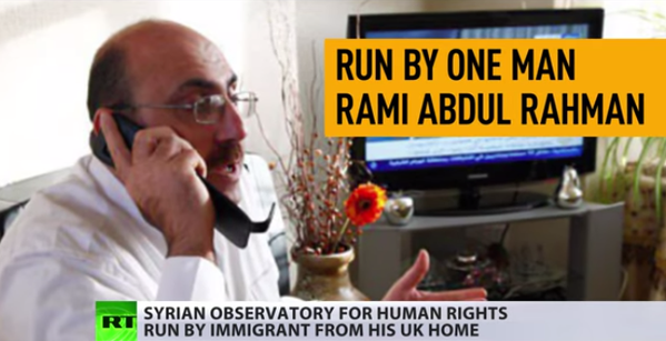 Man who runs MSM-beloved Syrian Observatory for Human Rights hasn't been to Syria in 15yrs