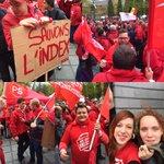 Les Jeunes Socialistes en manif ce 7 octobre! #manif #onstrike #mjs #js #jeunessocialistes #onlacherien http://t.co/7IGP9QGBwS