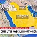 Hoeveel vluchtelingen/moslimbroeders uit h/ Midden-Oosten worden opgevangen in Golfstaten? Zero, nul, geen enkele... http://t.co/JMAeCXLuej