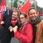 Wij zijn er ook @SegersBen @sofievereyken #betoging7okt http://t.co/nqhZEjHGAs