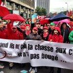 Un flot interminable de manifestants à Bruxelles #7oct http://t.co/7onWq80qkD