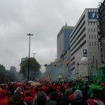 Koppen lopen. Neen Michel-De Wever jullie zijn er nog niet, het sociaal verzet staat er opnieuw. #7okt #genoeg http://t.co/k6Vjeo5aFM
