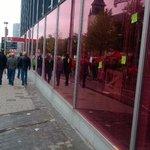 Les manifestants sont passés par là... #manif7oct #manifestation #nationale #Bruxelles @lalibrebe http://t.co/shuXR0tRrG