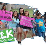Central Florida students strapping on sneakers for #InternationalWalktoSchoolDay! #FOX35 http://t.co/FvCdKHeN3v http://t.co/6IQNglTIn0