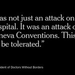 Doctors Without Borders has called for an inquiry after a U.S. aircraft attacked its hospital http://t.co/A39sjjPIIH http://t.co/4p4m6ouF7m