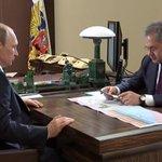 Шойгу доложил Путину о ходе российской операции в Сирии: сегодня к авиации подключились корабли Каспийской флотилии http://t.co/rxTruJ5AQn
