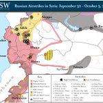 Russian strikes in Syria to date: Theres a little ISIS. http://t.co/sV5sGwM5gX