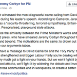 "Corbyns team respond to ""disgraceful name calling"" from David Cameron. That was speedy. https://t.co/Q6Fbp8xDMw http://t.co/Lcjwa0EFH9"