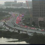 Screensnap from our live camera in #DowntownOrlando - #I4 is crawling due to a crash at Ivanhoe #Orlando #Traffic http://t.co/fCpfzJRKnQ