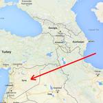 Ракеты, выпущенные с кораблей ВМФ России по ИГИЛ в Сирии пролетели Иран и Ирак. Нехилая такая посылка прилетела http://t.co/UTqsqO8nJy