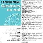 Comienza I Encuentro #GestoresenRed, en #Valladolid. Organizan @centrobuendia y @UVa_es http://t.co/CgIyH5orGH http://t.co/lb64a7VCn4
