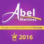 Santiago lo pide: ABEL MARTINEZ ALCALDE y ÉL aceptó PORQUE SU COMPROMISO ES CON SANTIAGO!! #AbelAlcalde!! http://t.co/41h3l8UOIr