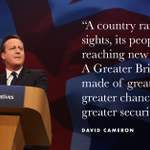 I believe were on the brink of something special: a Greater Britain. Lets get out there and make it happen. #CPC15 http://t.co/lEd7xiPcYe