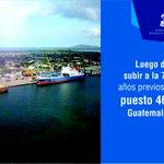 #Honduras sube al 46 lugar en infraestructura portuaria, por encima El Salvador, Guatemala, Nicaragua, y Costa Rica. http://t.co/SYQQbO0JxN