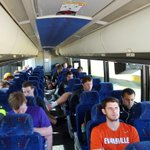 Wheels are up for @UEAthleticsMSOC on the road this evening at UK. #acesaces #TPST http://t.co/l2aygncdoc
