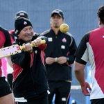 Are Japans #RWC2015 stars looking to make a name for themselves in the world of cricket?! #ShotOfTheDay http://t.co/qwzbCAYt6F