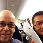 Assistant Secretary Russel and Ambassador Yun on their way to #Malaysia for the East Asia Summit Senior Officials Mtg http://t.co/15c0BVCA0G