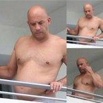 RT @g1 Vin Diesel aparece grávido na sacada do apartamento http://t.co/K999C5O8Dt