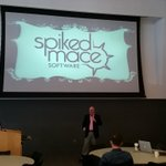 Hearing from @geoffreysimpson about his entrepreneurial journey! Newest milestone? His startup @SpikedMace. #1MCTUL http://t.co/OvNSYIL3sE