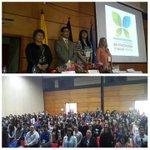 Rector UPTC instala Congreso de innovaciones en psicología y salud mental. Centro de Convenciones Tunja. @DinUptc http://t.co/V4srUPKtJA