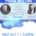 Join us in welcoming two PR professionals from the global marketing communications firm #Edelman TODAY @ 530p! #TXST http://t.co/UKvQO9qmJQ