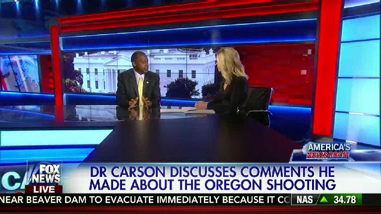 """""""We need to have people in schools who are armed, who are trained, who can help in a [shooting] situation."""" - Carson http://t.co/ukVWcxSpW2"""