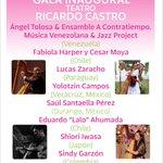 @iceddgo FESTIVAL LATINOAMERICANO DE ARPA DURANGO 2015. 14 oct GALA INAUGURAL Teatro Ricardo Castro 20:30 hrs $80.00 http://t.co/sZODfPLS6H