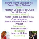 @iceddgo FESTIVAL LATINOAMERICANO DE ARPA DURANGO 2015 16 oct FIESTA CON ARPAS Plaza de Armas 18:00h Entrada Libre http://t.co/v8yaaoF7PK
