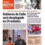 Esta es la portada de la edición Nro 18 de @ciudad_bqto búscalo en las unidades de @Transbarca http://t.co/moD0kht2PA