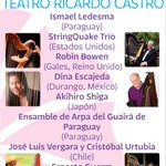 @iceddgo FESTIVAL LATINOAMERICANO DE ARPA DURANGO 2015 17 oct GALA DE CLAUSURA Teatro Ricardo Castro 20:30 $80.00 http://t.co/u7a8yxApag