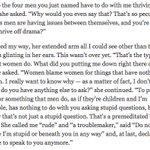 #NYTimesMag journalist asked Nicki Minaj if she thrives off the drama between her label-mates.. Her response: http://t.co/baEePieMEM