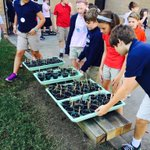 """""""We have been raising sprouts and now we are going to plant them today."""" -Eliot ES T #SuccessTPS http://t.co/WneBuTD1HA"""