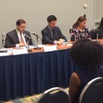 . @RepCuellar @JoaquinCastrotx lead #2015HHM Summit on Financial Aid for Postsecondary Education Latino Students http://t.co/DipelEK2GE