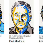 Three scientists who found ways that cells fix damaged DNA win 2015 #NobelPrize in Chemistry http://t.co/1eIKY663Rt http://t.co/tNPiOsyDbM