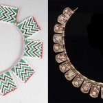 A necklace from the Eastern Cape of #RSA and a @TiffanyAndCo necklace made in c. 1880 for #USA #RWC2015 #RSAvUSA http://t.co/hhVuiR7hz3