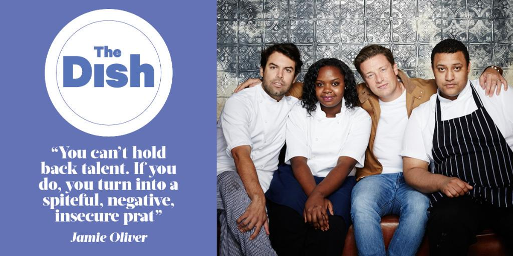 RT @SundayTimesFood: .@jamieoliver on the success of his @JamiesFifteen protégés http://t.co/JFLvMmbCz5 http://t.co/5oqraJajfg