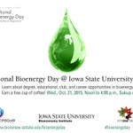 2 weeks from today: National Bioenergy Day @ Iowa State University. Its all about opportunities. #bioenergyday http://t.co/ZSlUQDEEZM