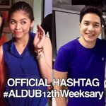 HAPPY #ALDUB12thWeeksary sa ating lhat.!. STAY SOLID ALDUB NATIONS!! MOST ESPECIALLY TO OUR IDOLS! http://t.co/gUsSIyTIlB