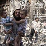 Assad's barrel bombs terrorise civilians. Will Russia now be liable for abetting war crimes? http://t.co/qhsiJSAZeB http://t.co/e6MT0LUKLt
