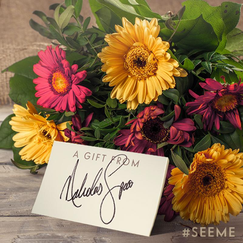 RETWEET now for your chance to win today's #SeeMe prize: a @1800flowers bouquet with a special note from me! http://t.co/5C9Z3Ndnkh