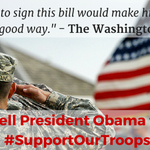 #NDAA is a policy bill, not a spending bill. Tell Dems & Pres Obama to stop playing politics & #SupportOurTroops http://t.co/hVM99gLErz
