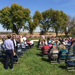 Crowd getting ready for Hillary Clintons appearance in Council Bluffs: http://t.co/PwRRqStIqa @MelissaFry7 http://t.co/p87QoIwBiQ