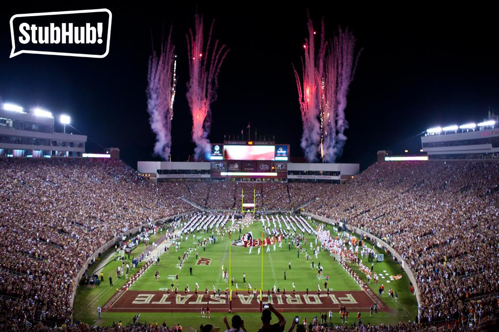 #Noles fans! We want you to #LetYourFanOut.  RT this picture for your chance to win a $100 gift card from @StubHub! http://t.co/8ocdRaQAju