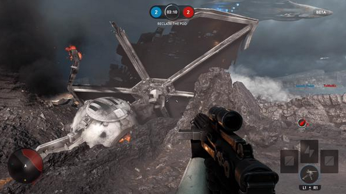 Any takers for a PS4 #StarWarsBattlefront Beta code? I have one, so lemme know what you are looking forward to in it! http://t.co/YOO0xeOA5S