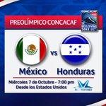 Vive el preolímpico #México vs #Honduras por Telesistema   7:00pm http://t.co/cb7tLSzNSP
